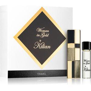 By Kilian Woman in Gold parfémovaná voda cestovní balení pro ženy 50 ml