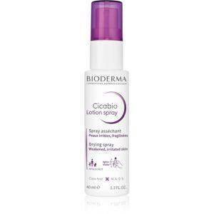 Bioderma Cicabio Lotion Spray vysušující a zklidňující sprej pro podrážděnou pokožku 40 ml
