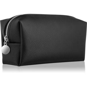 Notino Basic kosmetická taška dámská malá černá (21 × 9 × 7 cm)