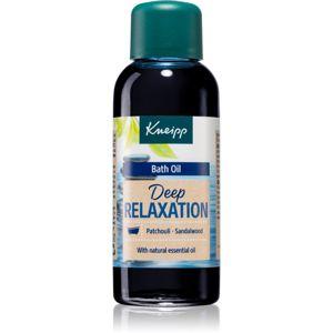 Kneipp Deep Relaxation Patchouli & Sandalwood koupelový olej 100 ml