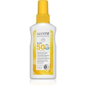 Lavera Sun Sensitiv Kids dětský sprej na opalování SPF 50 100 ml