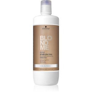 Schwarzkopf Professional Blondme bezsulfátový šampon pro studené odstíny blond 1000 ml