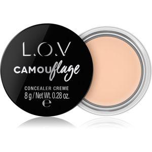 L.O.V. CAMOUflage krémový korektor odstín 010 Alabaster 8 g