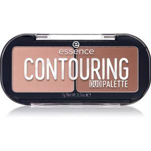 Essence Contouring Duo Palette konturovací paletka odstín 10 lighter skin 7 g
