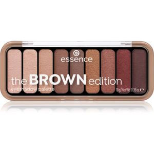 Essence The Brown Edition paletka očních stínů odstín 30. GORGEOUS BROWNS 10 g