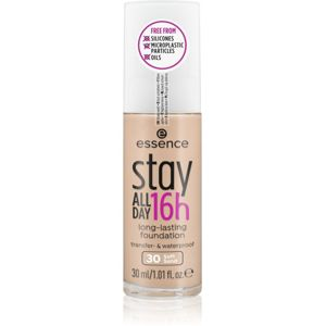 Essence Stay ALL DAY 16h voděodolný make-up odstín 30 Soft Sand 30 ml