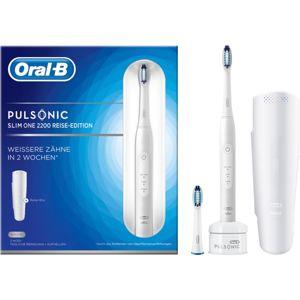 Oral B Pulsonic Slim One 2200 White sonický zubní kartáček S311.523.2X