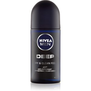 Nivea Men Deep antiperspirant roll-on 48h 50 ml