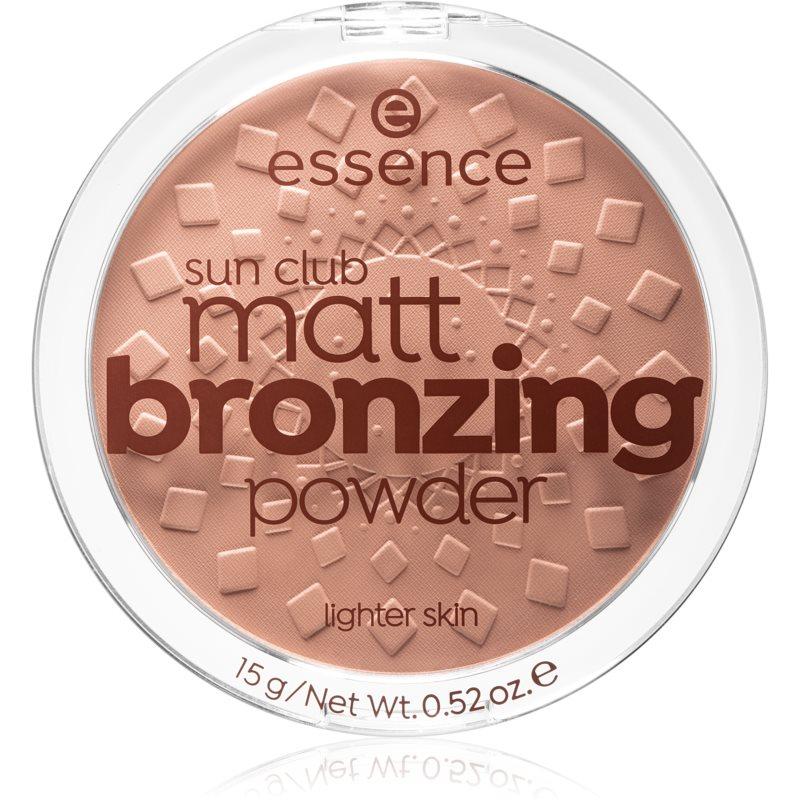 Essence Sun Club bronzující pudr odstín 01 natural 15 g