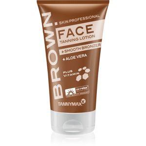 Tannymaxx Brown Face opalovací krém do solária s bronzerem na prodloužení opálení 50 ml