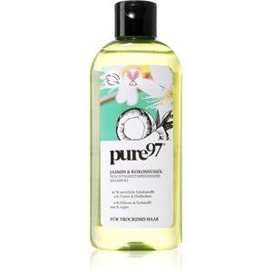 Pure 97 Jasmin & Kokosnussöl hydratační šampon pro suché vlasy 250 ml