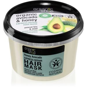 Organic Shop Organic Avocado & Honey regenerační maska na vlasy 250 ml