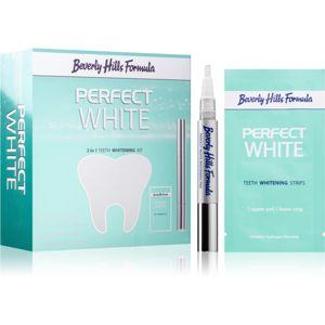 Beverly Hills Formula Perfect White sada pro bělení zubů