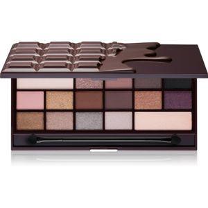 I Heart Revolution Chocolate paleta očních stínů odstín Death by Chocolate 22 g