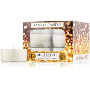 Yankee Candle All is Bright čajová svíčka 12 x 9,8 g