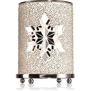 Yankee Candle Twinkling Snowflake keramická aromalampa