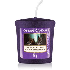 Yankee Candle Haunted Hayride votivní svíčka 49 g