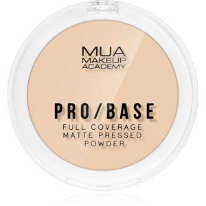 MUA Makeup Academy Pro/Base matující pudr odstín #110 6,5 g