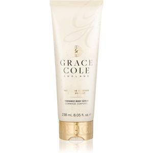 Grace Cole Nectarine Blossom & Grapefruit tělový peeling 238 ml