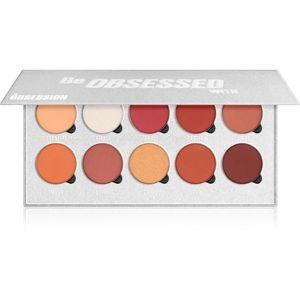 Makeup Obsession Be Obsessed With paletka očních stínů 10 x 1,30 g