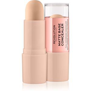 Makeup Revolution Matte Base korektor odstín C3 8 g