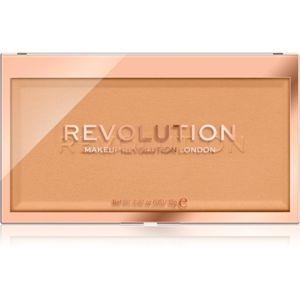 Makeup Revolution Matte Base pudr odstín P8 12 g