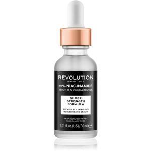 Revolution Skincare Niacinamide 15% hydratační sérum pro problematickou pleť, akné 30 ml