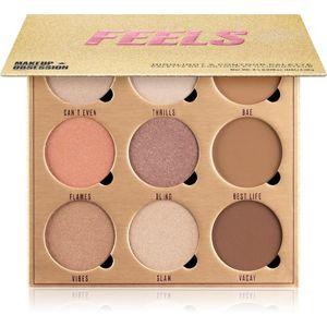 Makeup Obsession Feels konturovací a rozjasňující paleta 19,8 g