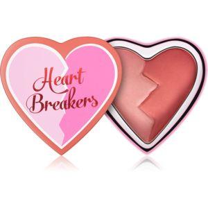I Heart Revolution Heartbreakers tvářenka s matným efektem odstín Kind 10 g
