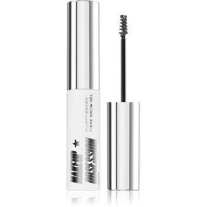 Makeup Obsession Fluffy Brow fixační gel na obočí odstín Clear 6 ml