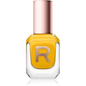 Makeup Revolution High Gloss vysoce krycí lak na nehty s vysokým leskem odstín Lemon 10 ml