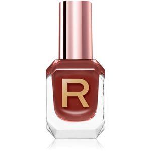 Makeup Revolution High Gloss vysoce krycí lak na nehty s vysokým leskem odstín Clay 10 ml