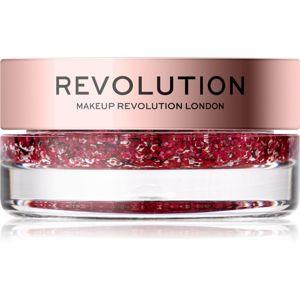 Makeup Revolution Viva Glitter Balm Pot třpytky odstín Pink Party 3,2 g