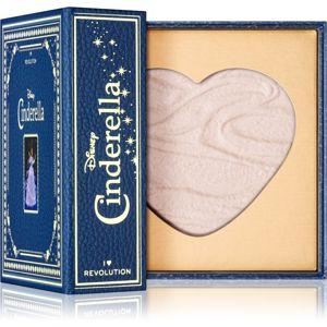 I Heart Revolution Disney Storybook zapečený rozjasňující pudr odstín Cinderella 10 g