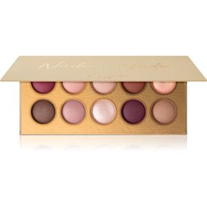 Revolution PRO Colour Focus Palette paletka očních stínů odstín Nude on Nude 10x1,5 g