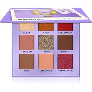 Makeup Revolution X Friends paletka očních stínů odstín Monica 9 g