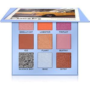 Makeup Revolution X Friends paletka očních stínů odstín Phoebe 9 g