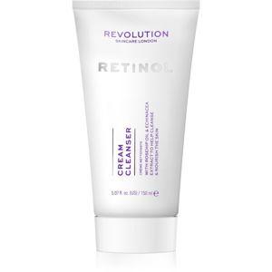 Revolution Skincare Retinol jemný čisticí krém proti vráskám 150 ml