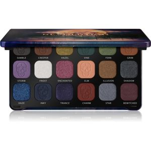 Makeup Revolution Forever Flawless paleta očních stínů odstín Enchanted 18 x 1,1 g