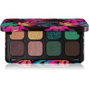 Makeup Revolution Forever Flawless paletka očních stínů odstín Dynamic Chilled 8 g