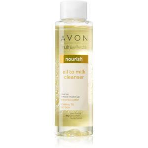 Avon Nutra Effects Nourish vyživující čisticí olej pro normální až suchou pleť 125 ml