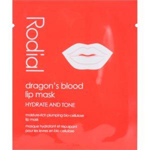 Rodial Dragon's Blood hydratační maska na rty 8 ks