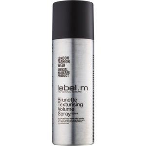 label.m Complete tvarující objemový sprej pro hnědé a tmavé odstíny vlasů 200 ml