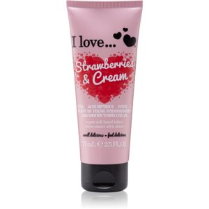 I love... Strawberries & Cream krém na ruce 75 ml
