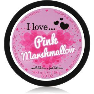 I love... Pink Marshmallow tělové máslo 200 ml