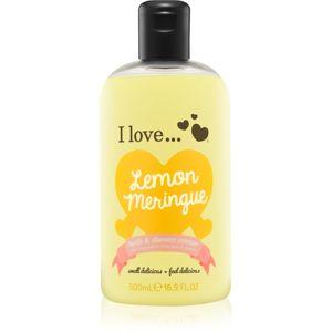 I love... Lemon Meringue sprchový a koupelový krém 500 ml