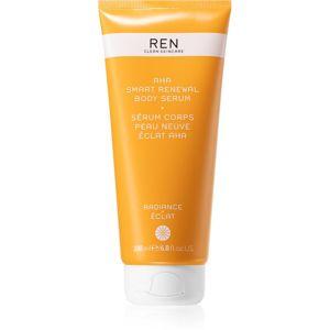 REN Radiance vyhlazující exfoliační sérum s AHA kyselinami 200 ml