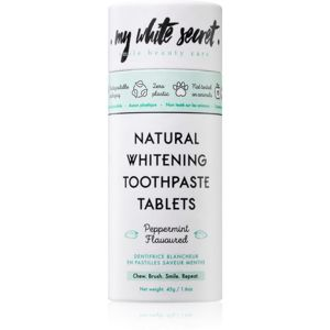 My White Secret Toothpaste Tablets bělicí zubní pasta 45 g
