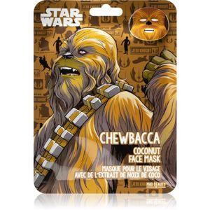 Mad Beauty Star Wars Chewbacca hydratační plátýnková maska s kokosovým olejem 25 ml