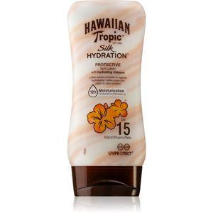 Hawaiian Tropic Silk Hydration hydratační krém na opalování SPF 15 180 ml